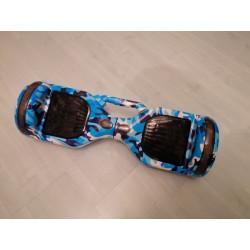 Hoverboard s LED s užitečným madlem , model HB01WH