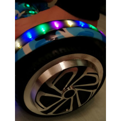 Hoverboard s LED , model HB01L - military