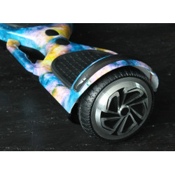 Hoverboard s LED s užitečným madlem , model SPACE