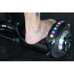 Hoverboard s LED s užitečným madlem , model BLACK